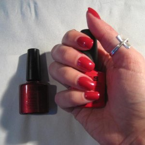 Shellac Red Baroness with Wildfire