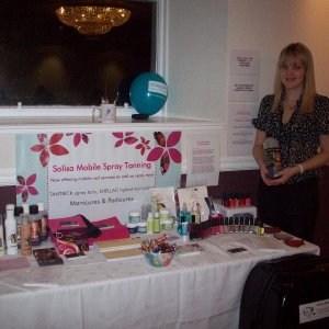Table at Glamour Evening