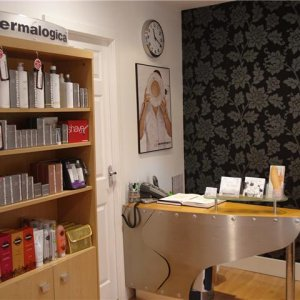 The Beauty Workshop salon Airdrie North Lanarkshire Owner Morag Greer Modern, friendly, Skincare; Dermalogica Nails     ; Creative, Extensions, Designer, Glitter, Tips, Art.. Tan      ; Fake Bake, St Tropez Derma Clinic includes Anti-Wrinkle Injections, Derma Fillers (smoother fuller looking skin, lip definition), Princess Pamper Parties..