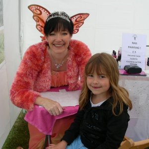 The Nail Fairy & client