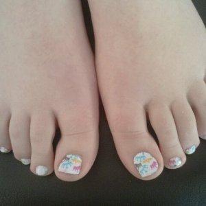 trendy nail wraps royalty