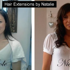 Hair extensions by Natalie of Cream Hair and Beauty Plymouth