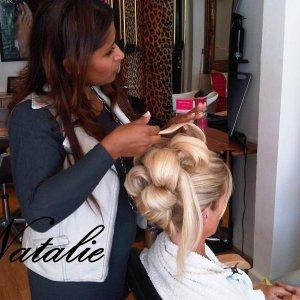 Natalie wedding hair CreamHair and Beauty Plymouth