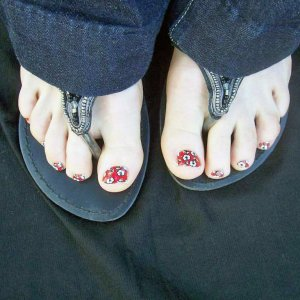 My first Minx toes