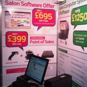 A close up of the refurbished system - The Sales Executive told me that people couldn't believe that it wasn't new!