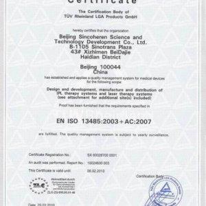 ISO 13485 for sincoheren