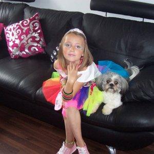 My little girl Kaylene & Ruby