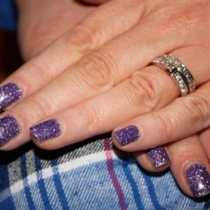 purple rockstar on myself
