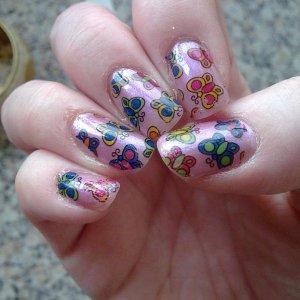 Pretty nail foils