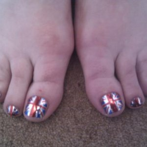 Union Jack minx for client going to 1940's blitz night.