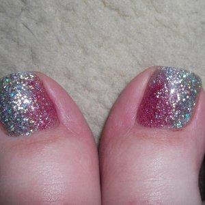 1st set of toes on myself