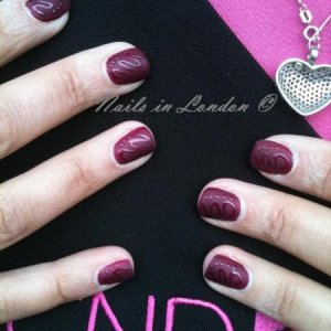 Matte Shellac inspired by Anna*Flower* Lee
