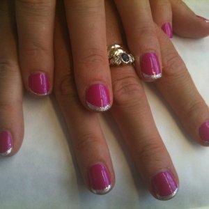 Tutti Fruitt with Glitter French ;o)