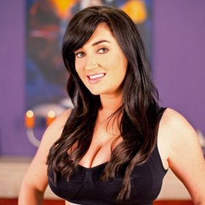 Tibby Muldoon- Glamour model modelling 18 inch prebonded hair extensions by Sherrys