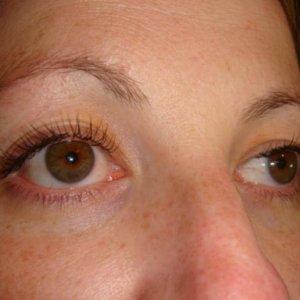 Natural lash extension