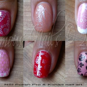 A few fun examples of the combination of Polish Pro & Konad :)