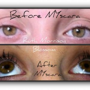 Before and after MYscara