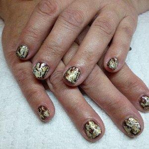 Gel 60 with Kashmir Gold Foil