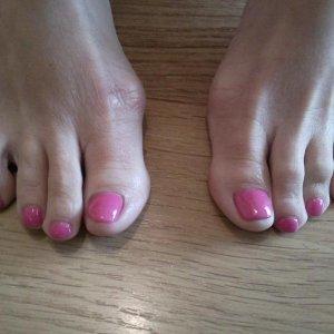 x Hot Pop Pink Shellac x