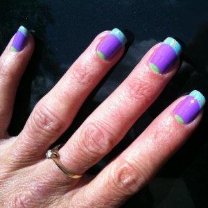 Tracey nail art