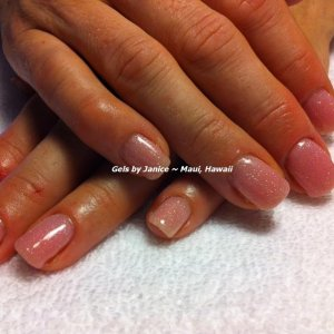 Bio Sculpture colors  Strawberry French & Crystal Brust