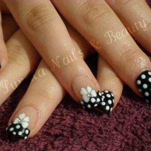 Towie inspired nails