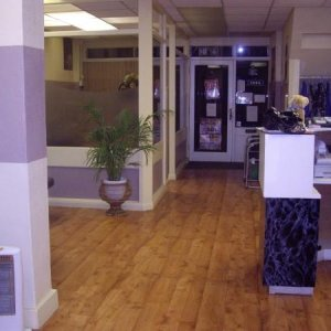 The salon :)