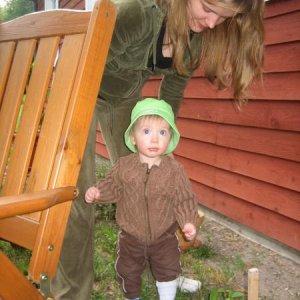 Visiting grandparents summer 2008