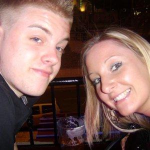 sarah and nathan hol in tenerife 2008