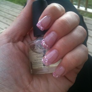 Pink crushed shell x