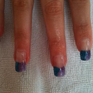 two toned tips using NSI