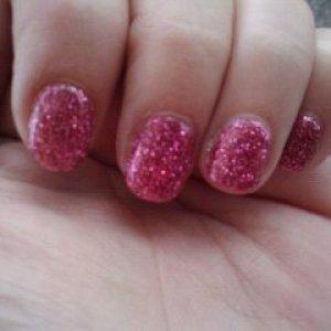 My first Rockstar nails on myself.