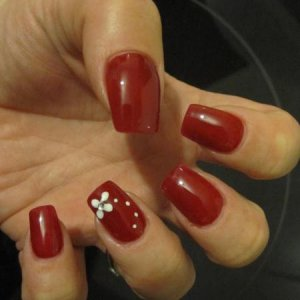 Shellac decadence with simply nail art
