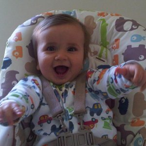 This is my gorgeous son Hugo aged about 8 months old.