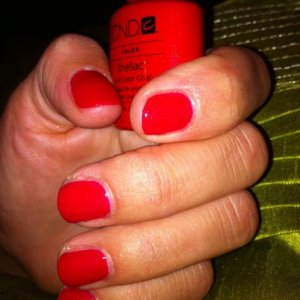 Hollywood , my first Ever Shellac.