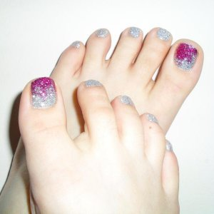 My first set of Rockstar Toes!!! :-)