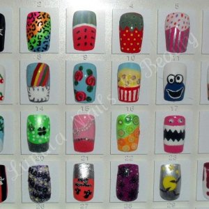 Some of my nail art designs xx