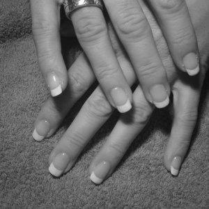 french shellac natural nails