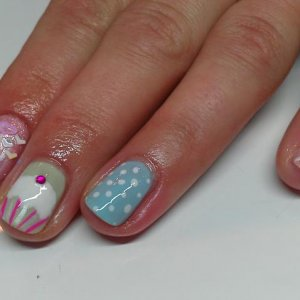 Pretty Party Nails
