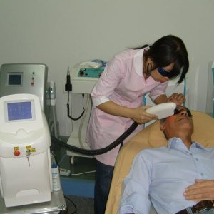 S 106P- ipl hair removal treatment