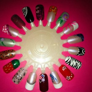some of my nail art :)