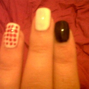 Chloe Green inspired Nails from Made in Chelsea