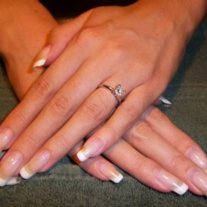 Shellac French #six, four weeks growth