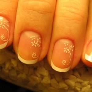 Konad M08 - Konad white nail polish