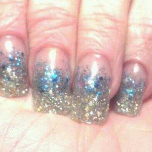 organic nails - zodiac collection aries and aquarius