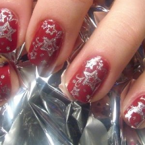 Christmas/New years nails :)