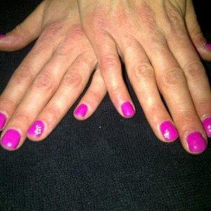 Shellac Hot Pop Pink