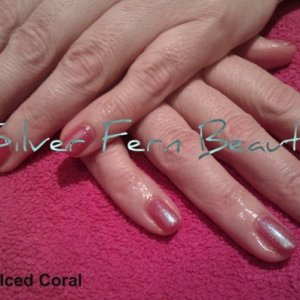 Shellac Wildfire & Iced Coral