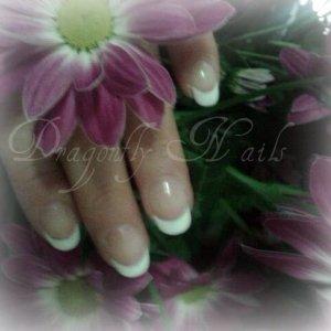 Gelish Hard Gel Pink & White