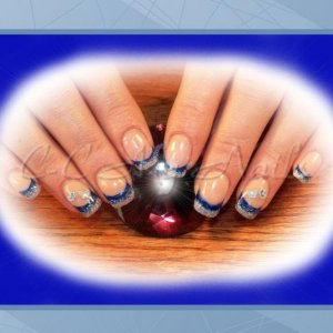 H&NH Renew Pink, NSI Blueberry, LE Disco Enhancments